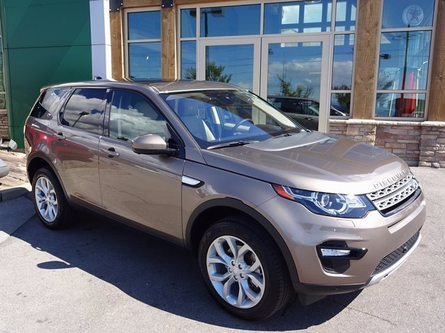 New 2017 Land Rover Discovery Sport HSE