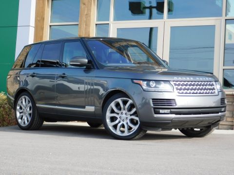 Certified Pre-Owned 2017 Land Rover Range Rover WAGON 4 DOOR