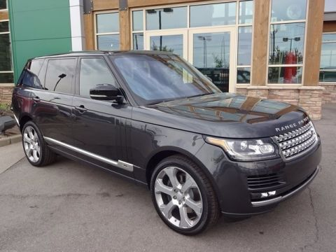 New 2017 Land Rover Range Rover WAGON 4 DOOR